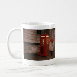 London Rainy Day Red Phone Box / Umbrella Mug