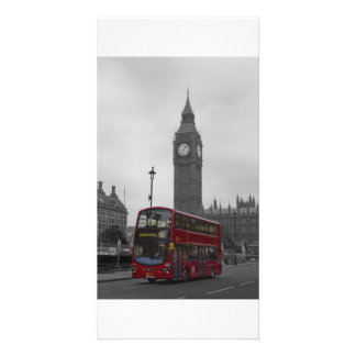 London Red bus Card