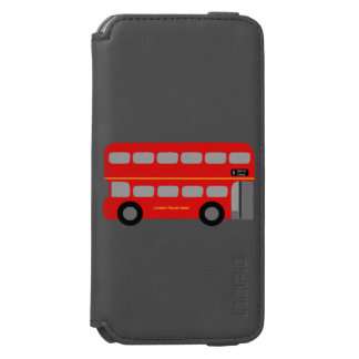 London Red Bus iPhone 6/6s Wallet Case