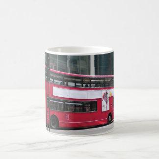 London Red Bus Classic White Coffee Mug