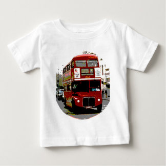 London Red Bus Routemaster Buses Baby T-Shirt