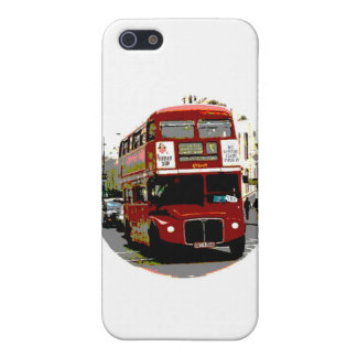 London Red Bus Routemaster Buses iPhone SE/5/5s Cover