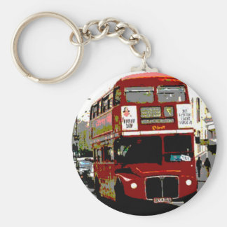 London Red Bus Routemaster Buses Keychains