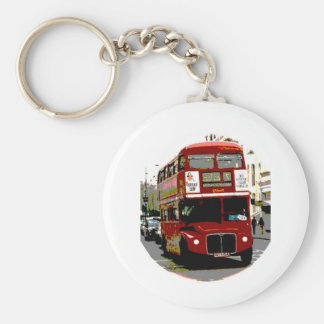 London Red Bus Routemaster Buses Keychain