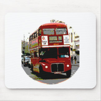 London Red Bus Routemaster Buses Mousepads