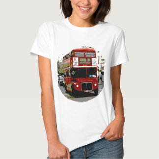 London Red Bus Routemaster Buses T-Shirt
