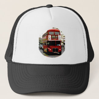London Red Bus Routemaster Buses Trucker Hat