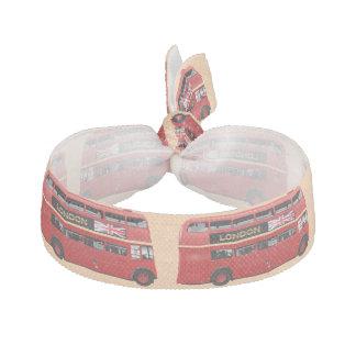 London Red Bus Elastic Hair Ties