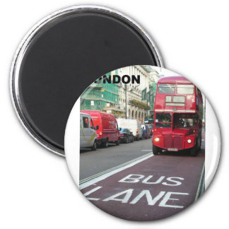 London Red Bus (St.K) Refrigerator Magnets