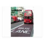 London Red Bus (St.K) Postcards