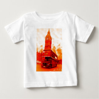 London Red Bus & the Big Ben Baby T-Shirt
