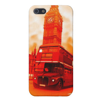 London Red Bus & the Big Ben iPhone 5C Covers