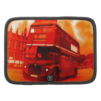 London Red Bus & the Big Ben Folio Planner