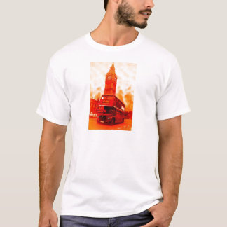 London Red Bus & the Big Ben T-Shirt