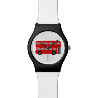 London Red Bus Wrist Watch