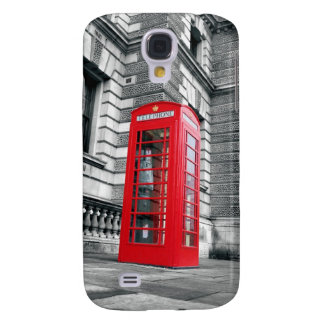 London Red Phone Booth Galaxy S4 Case