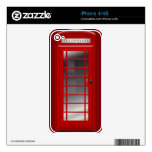 London Red Phone CallBox Funny iPhone 4 Case iPhone 4S Skins