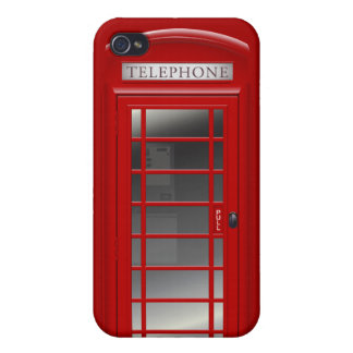 London Red Phone CallBox iPhone 4 Case