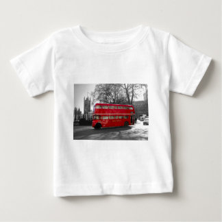 London Red Routemaster Bus Baby T-Shirt