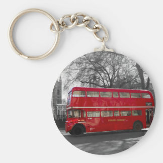 London Red Routemaster Bus Keychain