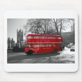 London Red Routemaster Bus Mouse Pad