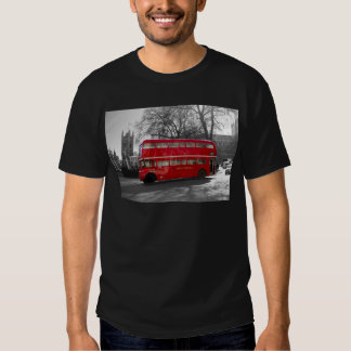 London Red Routemaster Bus T-Shirt
