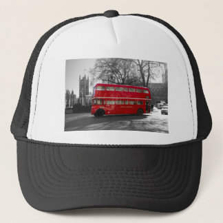 London Red Routemaster Bus Trucker Hat