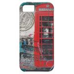 London red telephone booth Landmark Vintage iPhone 5 Case