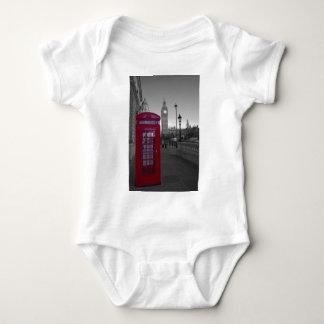 London Red Telephone box Baby Bodysuit