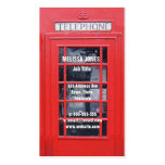London Red Telephone Box Double-Sided Standard Business Cards (Pack Of 100)