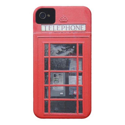 London Red Telephone Box Case-Mate iPhone 4 Case