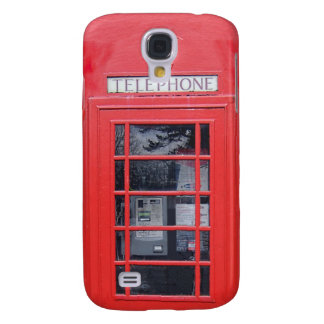 London Red Telephone Box Galaxy S4 Cases