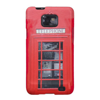 London Red Telephone Box Galaxy S2 Cover