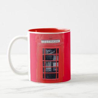 London Red Telephone Box Coffee Mugs