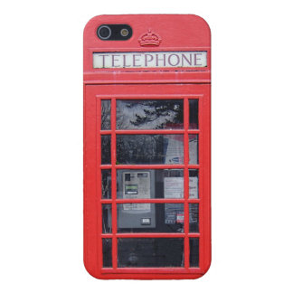London Red Telephone Box Cover For iPhone SE/5/5s