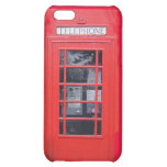 London Red Telephone Box iPhone 5C Covers