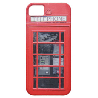 London Red Telephone Box iPhone SE/5/5s Case