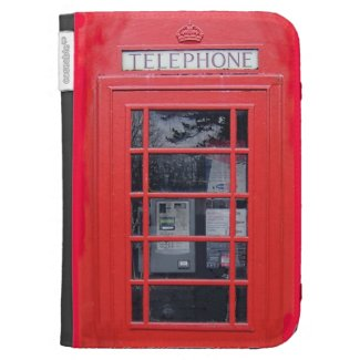 London Red Telephone Box Kindle 3 Case