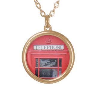 London Red Telephone Box Custom Necklace
