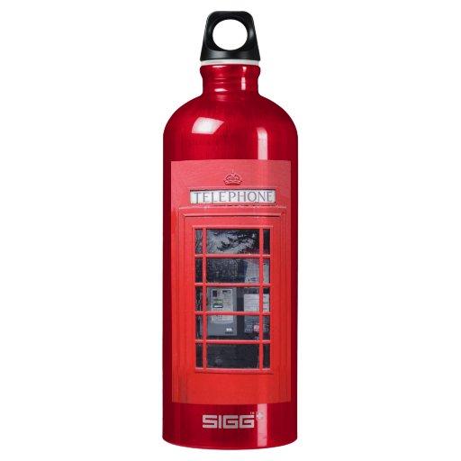 London Red Telephone Box SIGG Traveler 1.0L Water Bottle