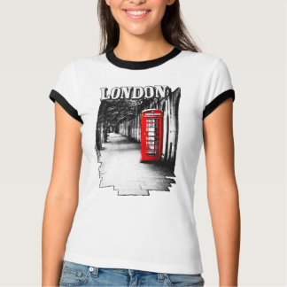 London Red Telephone Box T-Shirt