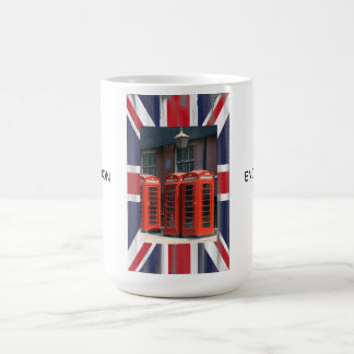 London Red Telephone Boxes Coffee Mug