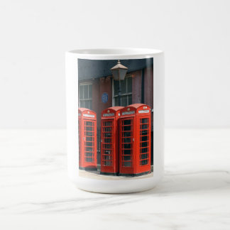 London Red Telephone Boxes Coffee Mugs