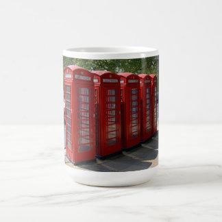 London Red Telephone Boxes Mug