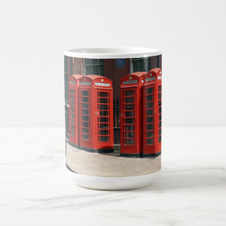 London Red Telephone Boxes Mugs
