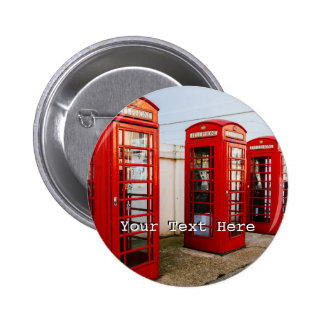 London Red Telephone Boxes, Photograph Button