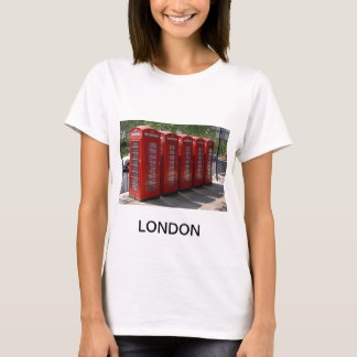 London Red Telephone Boxes T-Shirt