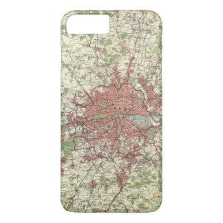 London Region Map iPhone 7 Plus Case