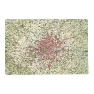 London Region Map Placemat