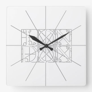 London Relief Sculpture Style Wall Clock